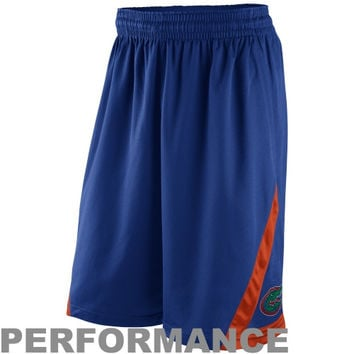 Nike Florida Gators Knit Performance Shorts - Royal Blue