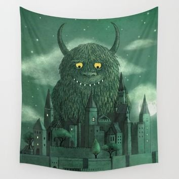 Age of the Giants Wall Tapestry by Terry Fan | Society6