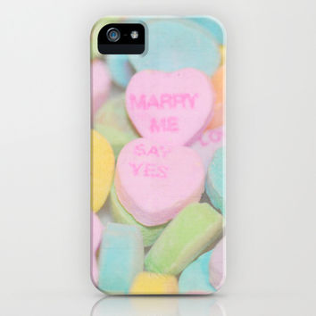 Say Yes iPhone & iPod Case by Lisa Argyropoulos