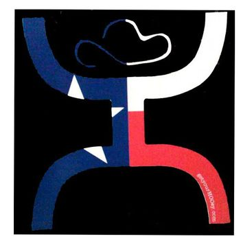 Small Texas HOOey Sticker - Hooey Online Store