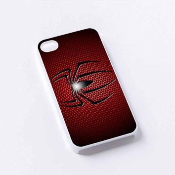 logo spiderman iPhone 4/4S, 5/5S, 5C,6,6plus,and Samsung s3,s4,s5,s6