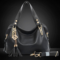 Women's Fashion Casual Leather Handbags Totes Purses 4 Colors