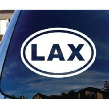 LAX Lacrosse Car Window Decal Automobile Tablet Decal Tablet PC Sticker Wall Laptop mobile truck Computer Notebook macbook Iphone Ipad