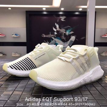 Adidas EQT Support 93/17 Sprot Shoes Running Shoes Men Women Casual Shoes Size:36 - 45
