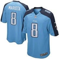 NFL Nike Tennessee Titans Marcus Mariota Youth On-field Jersey Size Large