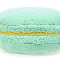 French Macaron Solid Series Pillow, Cushion (Honeydew Melon)