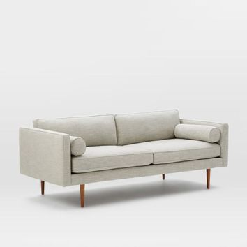 Retro Concise Fabrics Sofa