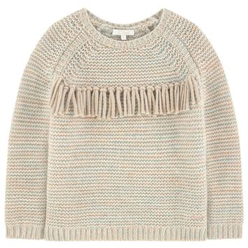 Girls Fancy Knitted Sweater (Mini-Me)