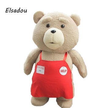 Elsadou Toys War Movie Teddy Bear Ted 2 Plush Toys Soft Stuffed Animals & Plush