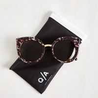 Vintage Inspired Dream of Me Sunglasses by Quay from ModCloth