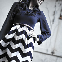 RESTOCK Let Me See Your Chevron Dress   Hope's