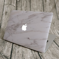 """NEW ARRIVAL Unique Marble Grain Full Front Cover Skin Laptop Sticker for MacBook Pro Air Retina 11"""" 12"""" 13"""" 15"""" Notebook Decal"""