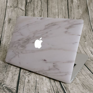 "NEW ARRIVAL Unique Marble Grain Full Front Cover Skin Laptop Sticker for MacBook Pro Air Retina 11"" 12"" 13"" 15"" Notebook Decal"