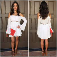 Endless Summer Off Shoulder Dress