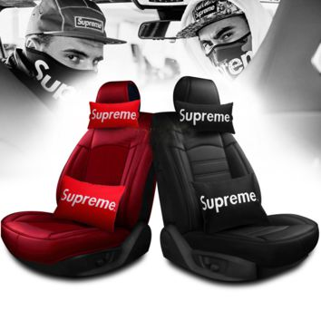 SUPREME Car Pillow Cushion