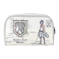 Attack On Titan Mikasa Cosmetic Bag