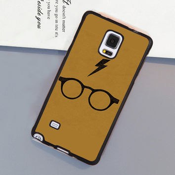 Harry Potter Glasses Style Soft Rubber Mobile Phone Cases For Samsung S4 S5 S6 S7 edge plus Note 2 Note 3 Note 4 Note 5 Cover