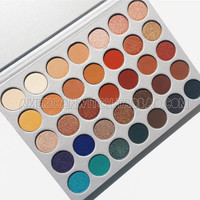 Morphe Jaclyn Hill 35 color eye shadow plate