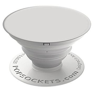 PopSockets: Expanding Stand and Grip for Smartphones and Tablets - White