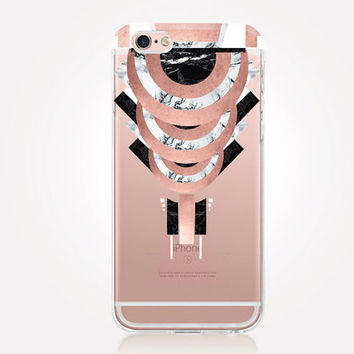 Transparent Art Deco iPhone Case - Transparent Case - Clear Case - Transparent iPhone 6 - Transparent iPhone 5 - Transparent iPhone 4