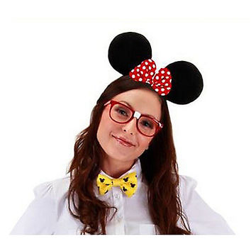 Nerd Minnie Costume Kit - Disney - Spirithalloween.com