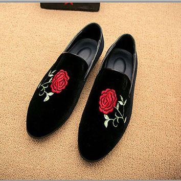 New Fashion Handmade Loafers Men Shoes