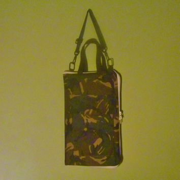 Camouflage Zipper Drumstick Bag