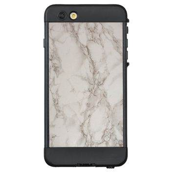 Marble Stone LifeProof NUUD iPhone 6 Plus Case