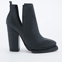 Jeffrey Campbell Who's Next Slit Boots in Black - Urban Outfitters
