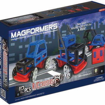 Magformers 42 Pcs R/C Cruisers Magnetic Construction Set
