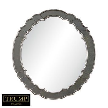 Sterling Industries DM2029 Ordway Mirror In Antique Silver Leaf w/ Gold