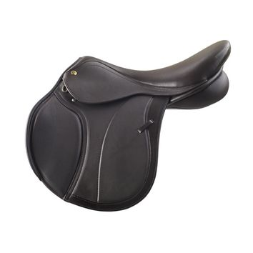 Ovation Adult Monarch Nottingham Jumping Saddle - Brown