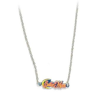 Sailor Moon Logo Necklace GE Animation