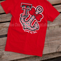 TEXAS TECH BOWTIE ANCHOR TEE