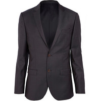 River Island MensNavy suit jacket