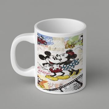 Gift Mugs | Mickey And Minnie Ceramic Coffee Mugs