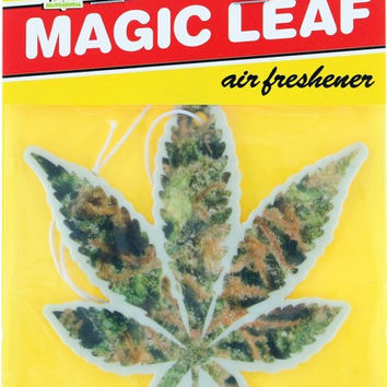 Skate Mental Magic Leaf Weed Air Freshener