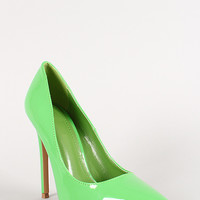 Shoe Republic Patent Pointy Toe Pump