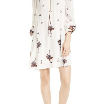 Free People Embroidered Minidress | Nordstrom