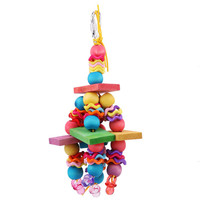 Colorful Super Bird Creations Wiggles and Wafers Toy for Birds Chewing Toy Pet Toy Supplies