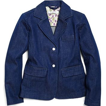 Washed Denim Blazer - Brooks Brothers