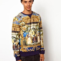 Criminal Damage | Criminal Damage Illuminati Sweat at ASOS