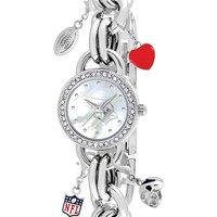 Women's Game Time Watches 'NFL - Arizona Cardinals' Charm Bracelet Watch, 23mm