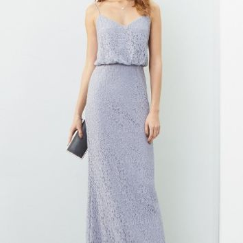 Adrianna Papell Lace Blouson Gown (Regular & Petite)   Nordstrom