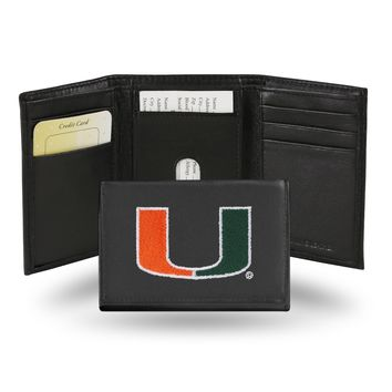 MIAMI HURRICANES EMBROIDERY TRIFOLD
