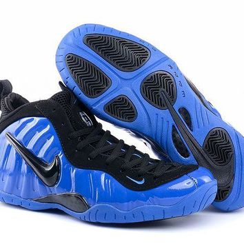 Jacklish Girls Nike Air Foamposite Pro Ben Gordon Hyper Cobalt-black
