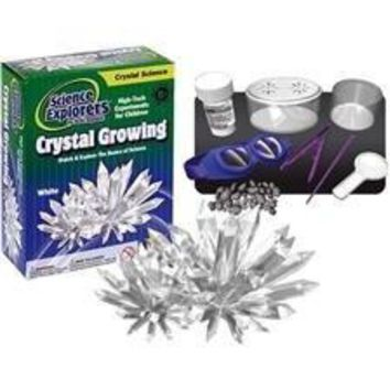 Science Kit - Crystal Growing - White