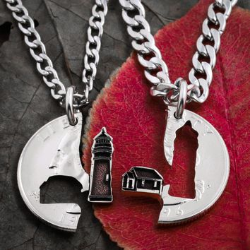 Lighthouse Couples and Friendship Necklaces,