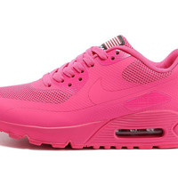 Pink Nike Air Max 90 Hyperfuse Running Shoes
