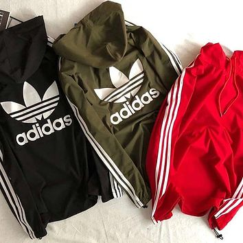 ADIDAS 2018 new sports wear is light and breathable sun protection clothing F0785-1